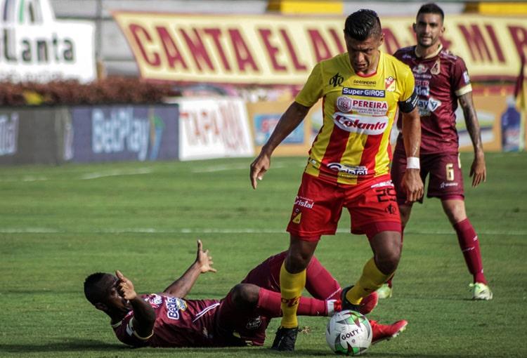 Juan Fernando Caicedo, Deportes Tolima, Liga BetPlay 2021-II, Deportivo Pereira