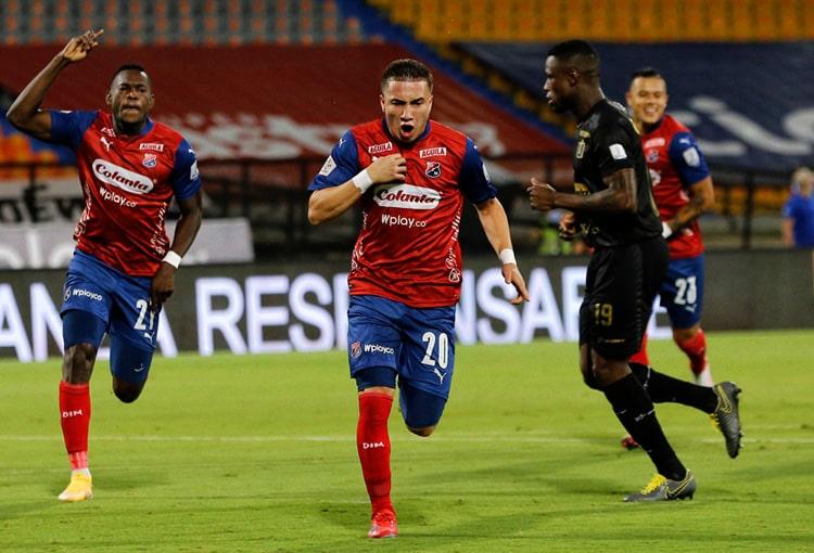 Juan Pablo Gallego, Deportivo Independiente Medellín, DIM, DaleRojo, Liga BetPlay 2021-II, Junior FC