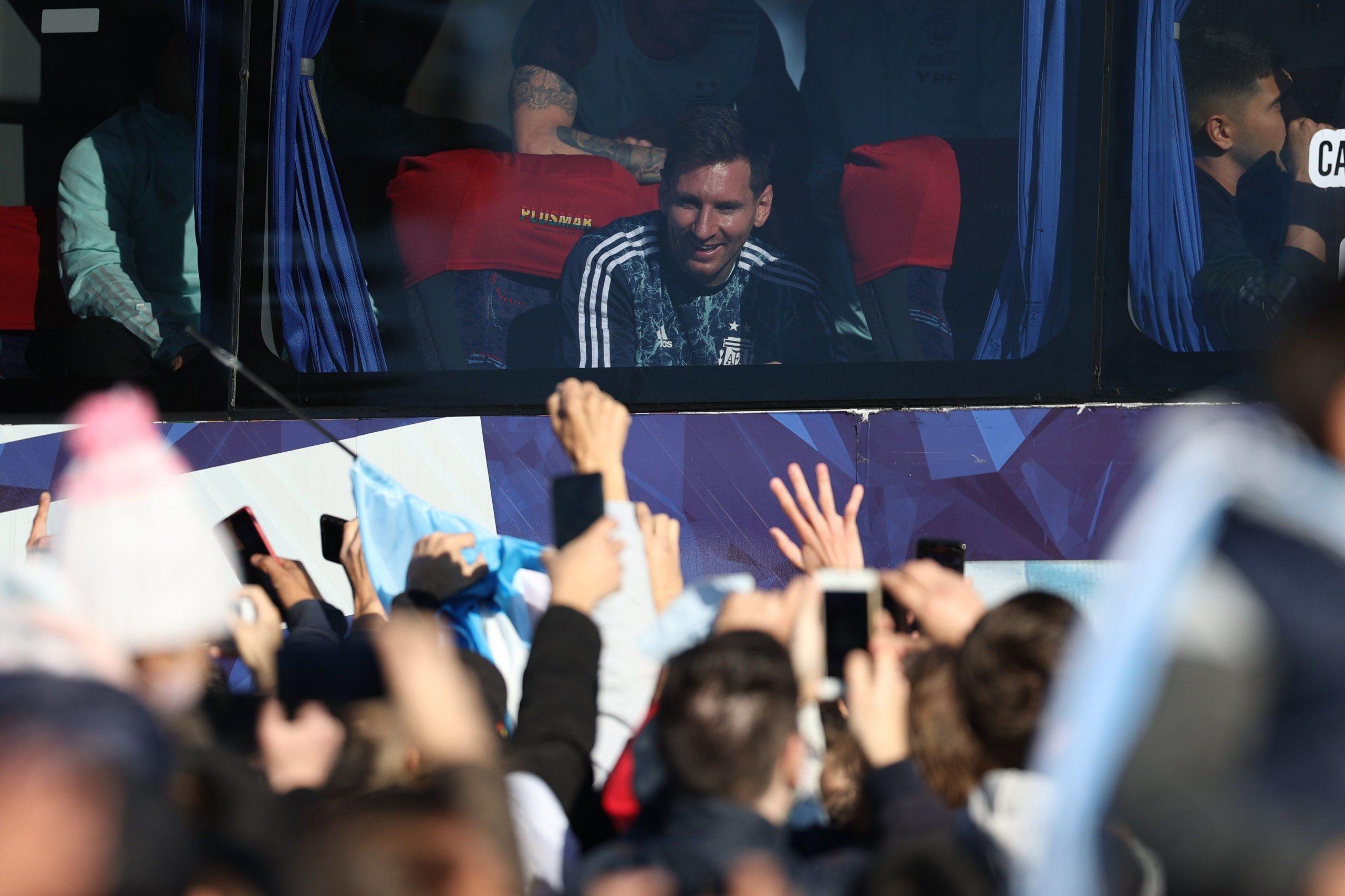 El campeón de Copa América llegó a Buenos Aires: así recibieron a la Selección Argentina