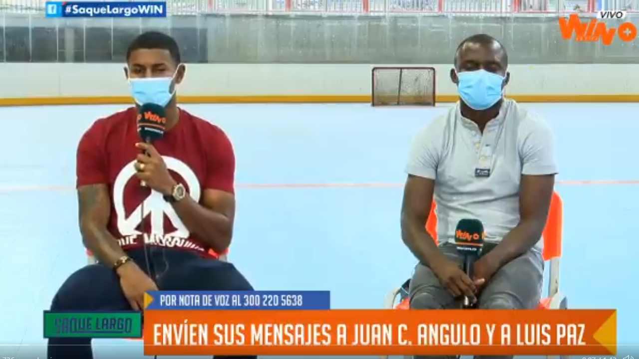 Luis Paz, Juan Camilo Angulo y el divertido 'mano a mano' que tuvieron