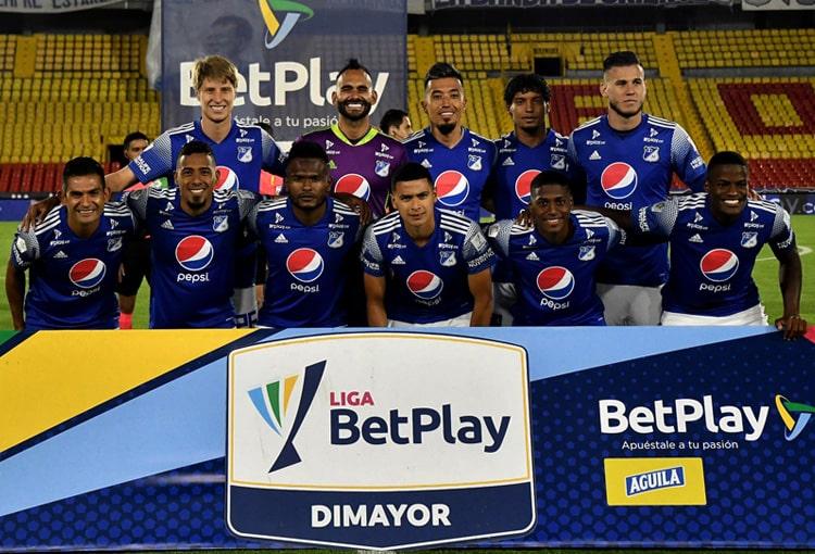 Millonarios FC, tabla de reclasificación 2021, Liga BetPlay 2021-II