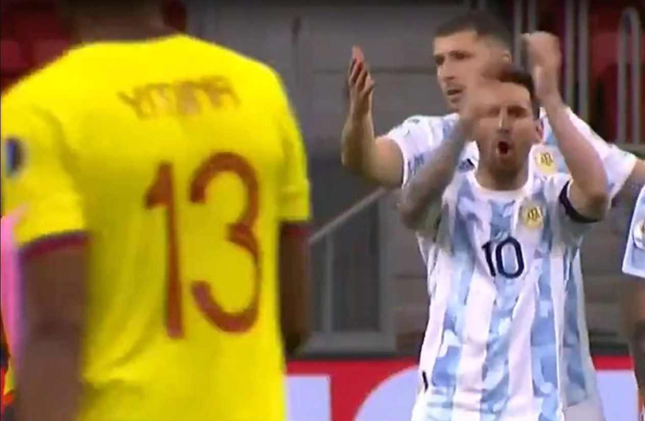 ¡Nuevo desplante de Messi a Yerry Mina!