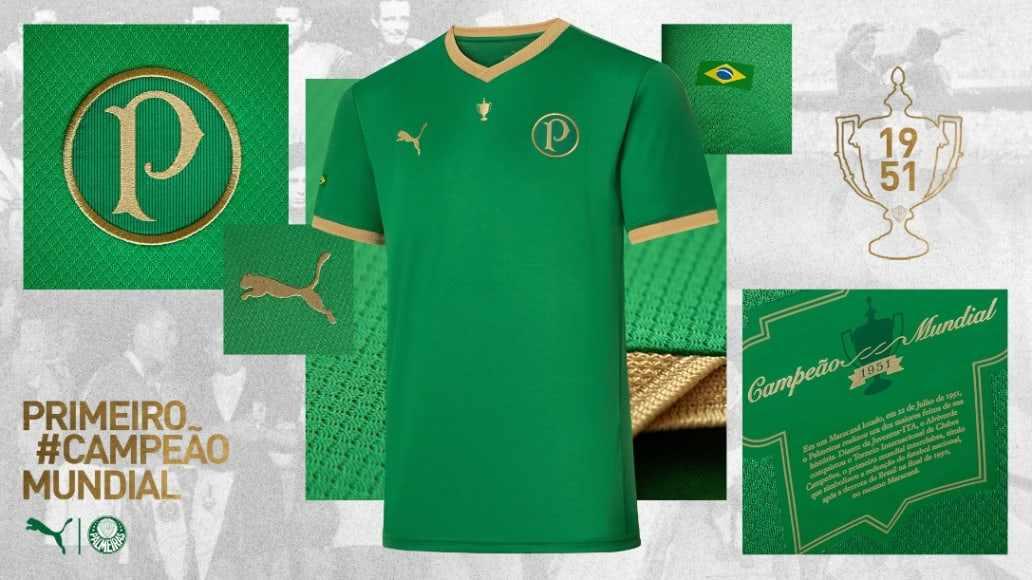 PUMA celebra 70 años de un título internacional del Palmeiras