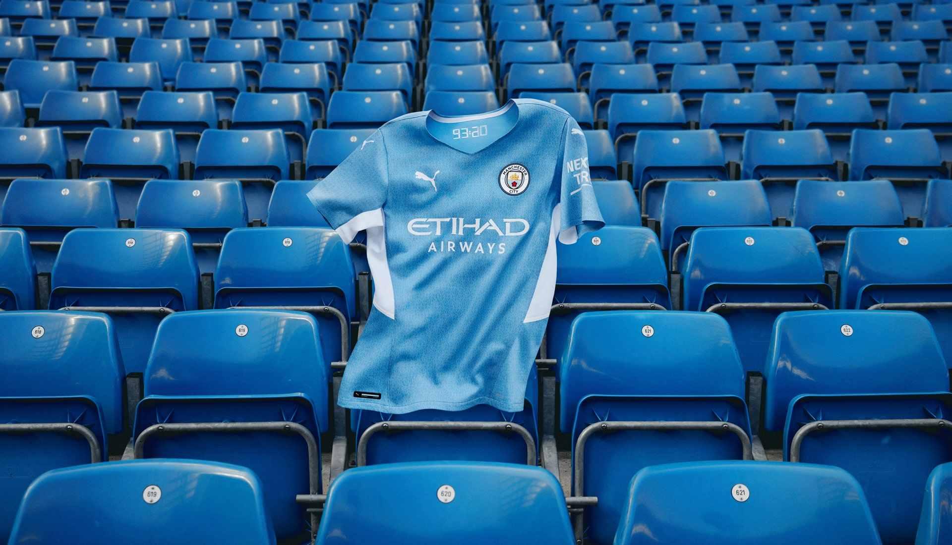 PUMA y Manchester City recuerdan gol de Agüero con su nueva camiseta