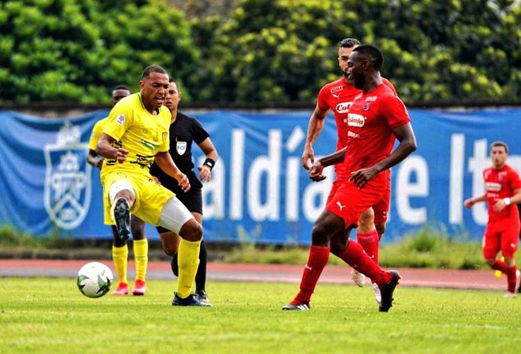 Víctor Moreno, Deportivo Independiente Medellín, DIM, Itagüí-Leones FC, pretemporada DIM 2021-II