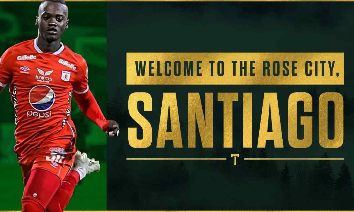 Ya es oficial Santiago Moreno es nuevo jugador del Portland Timbers