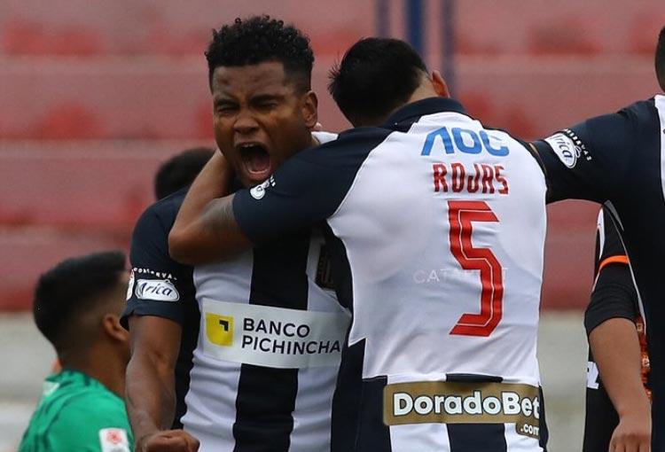 Aldair Rodríguez volvió al gol en su primer partido tras salir de América de Cali