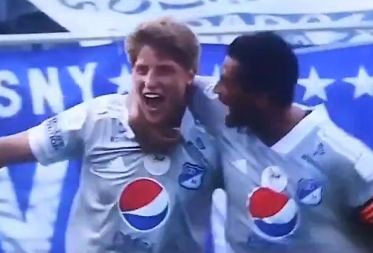 ¡El gol de Andrés Llinás con Millonarios a Everton en la Florida Cup!