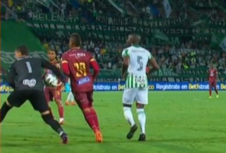 ¿La explicación que pidió Hernán Torres al gol anulado a Deportes Tolima ante Atlético Nacional?