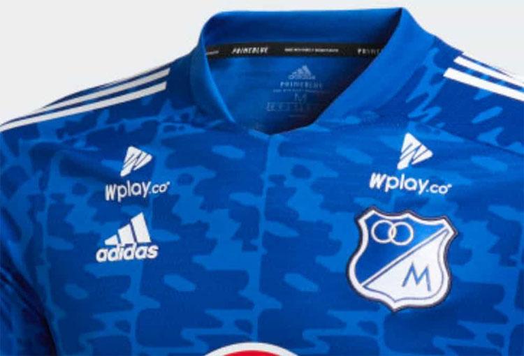 ¿El diseño de la nueva camiseta de Millonarios es el mismo de la de calentamiento de Cruzeiro?