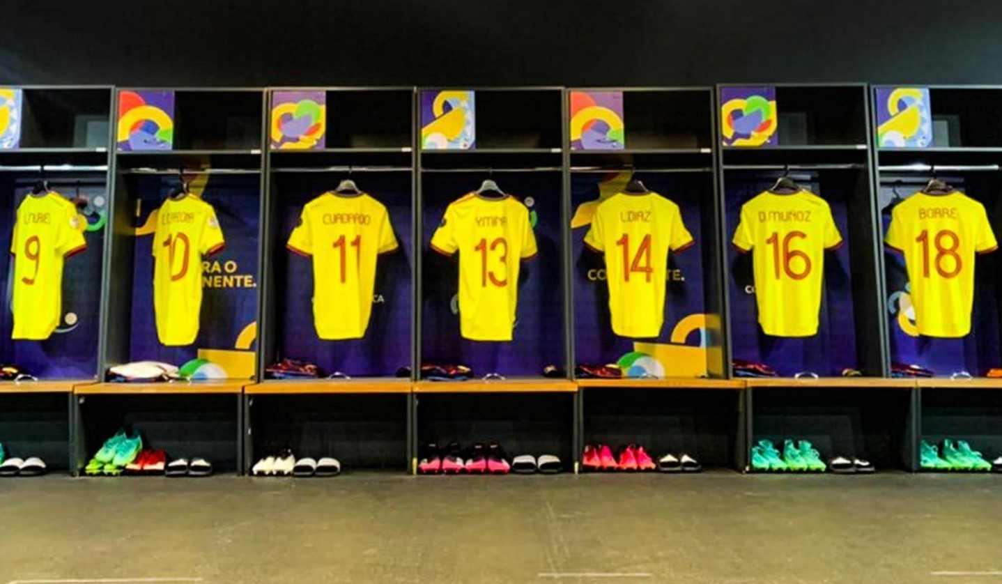 Copa América: Formación titular de Colombia contra Argentina