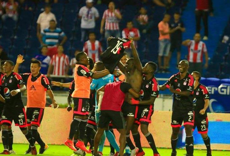 Los 6 goles que Martínez Borja le hizo a Junior jugando con América de Cali