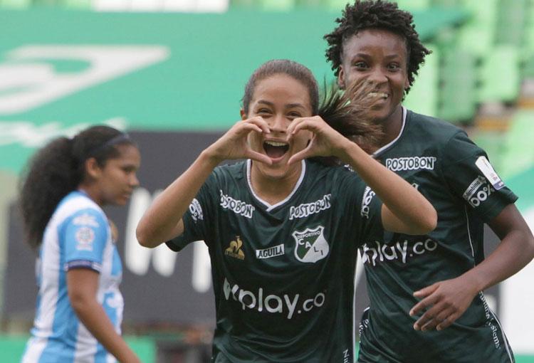 Deportivo Cali mantiene la racha perfecta en la Liga BetPlay Femenina