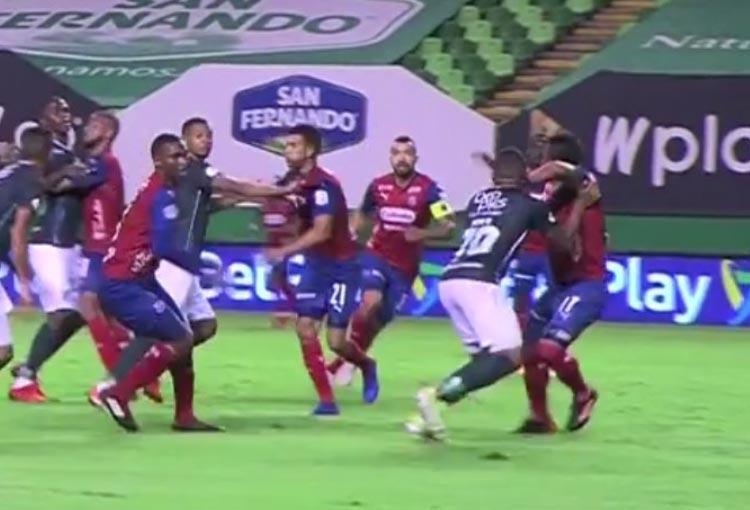 ¡El gol que le anularon a Deportivo Cali y la reacción de Alfredo Arias!