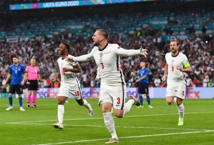 Final de la Eurocopa: ¡2 minutos y gol de Inglaterra!