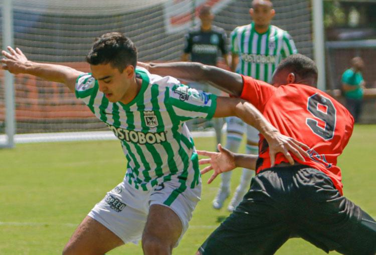 Atlético Nacional: los jugadores que usó Alejandro Restrepo y el resultado del amistoso con Envigado