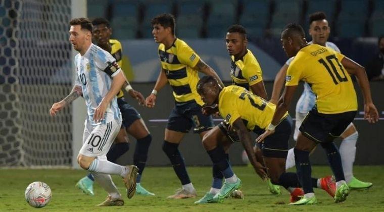 Argentina vs. Ecuador: ¡Se definió el rival de Colombia en semifinales de la Copa América!