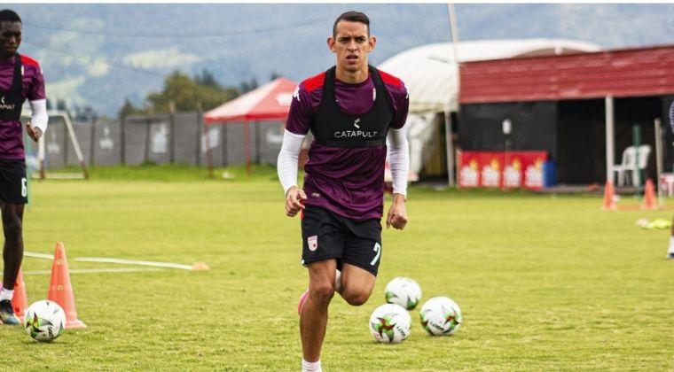 Otra vez Neyder Moreno fue figura con Santa Fe en la goleada ante Once Caldas