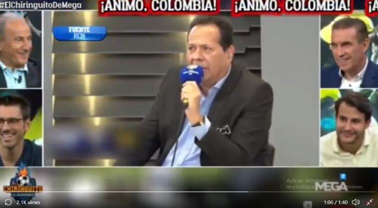 El Chiringuito se burló del 'Cantante del gol' por narración en Colombia vs. Argentina