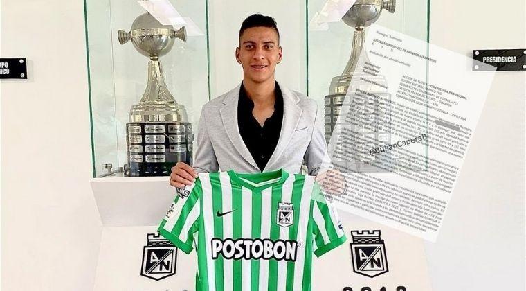 Sigue la polémica en Atlético Nacional a causa del caso Fernando Uribe y el Cortuluá, razón por la que no ha podido inscribir jugadores nuevos para la Liga BetPlay 2021-II.