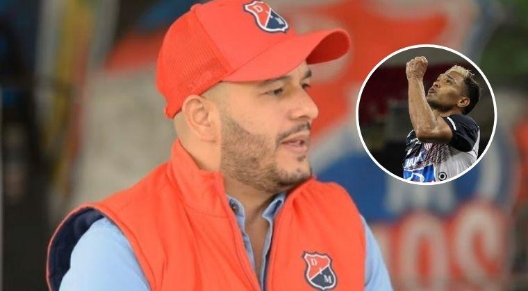 Lo que dijo el presidente del DIM sobre el posible fichaje de Teófilo Gutiérrez