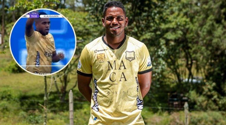 Primer gol de Juan Camilo Salazar con Águilas Doradas: ¡Ante América de Cali!