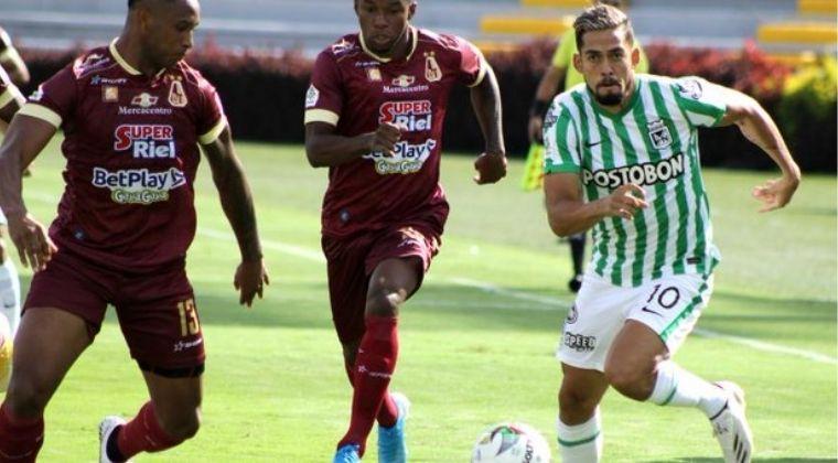 ¡Por fin! Atlético Nacional le ganó a Deportes Tolima en la Liga BetPlay