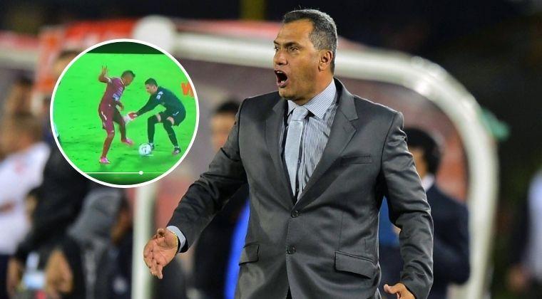 """Hernán Torres: """"¡¿Por qué anularon el gol? Fue un error craso de ese señor Ortega!"""""""
