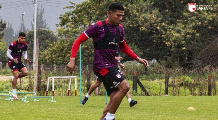 Santa Fe: Lo que dijo Álex Mejía antes de enfrentar a Atlético Nacional
