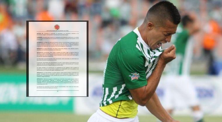 Nuevo capítulo en el caso Fernando Uribe: ¡Tutela de Atlético Nacional contra la FCF!