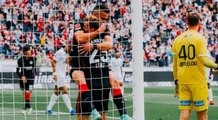 Primer gol de Rafael Santos Borré con el Eintracht Frankfurt