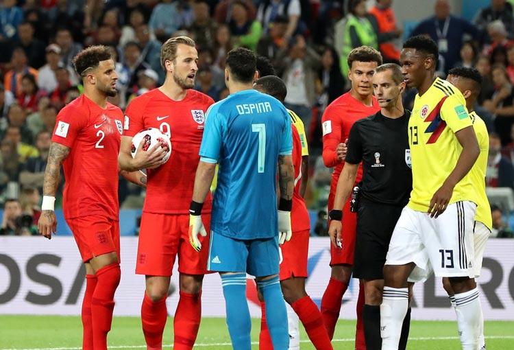 Los 8 ingleses que jugaron ante la Selección Colombia y van a la final de la Eurocopa