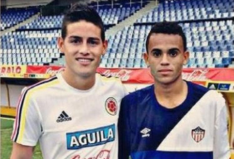 Elogio de James Rodríguez a Luis Díaz