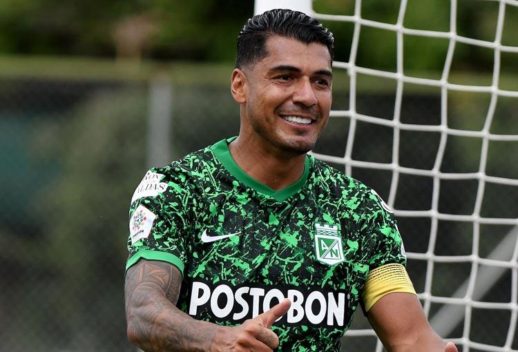 Jéfferson Duque y su nuevo puesto en los goleadores históricos de Atlético Nacional