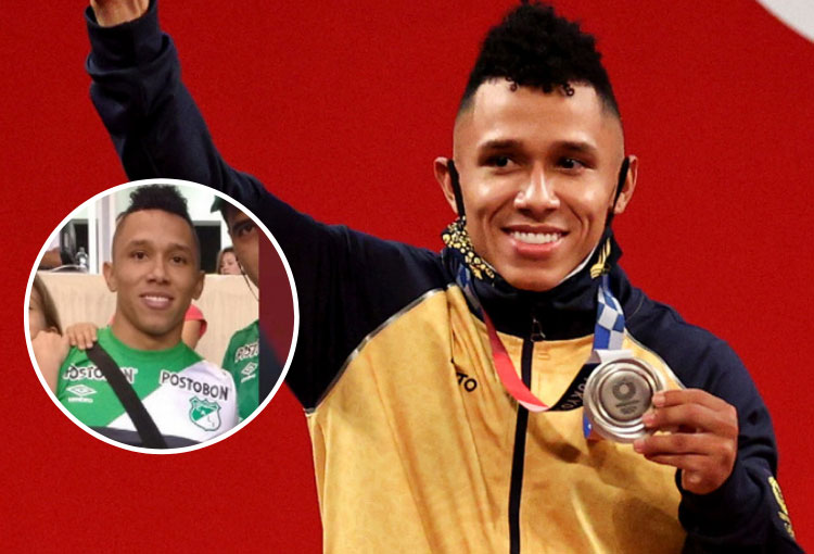 Luis Javier Mosquera, el doble medallista olímpico hincha de Deportivo Cali