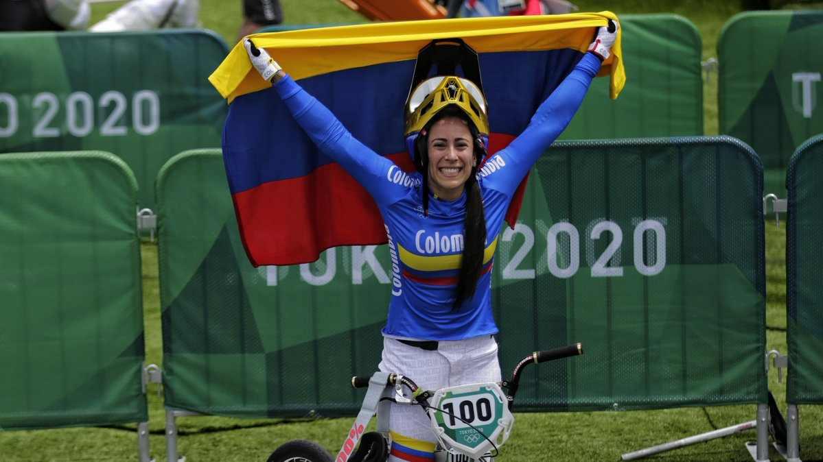 Dinero que gana Mariana Pajón por su medalla en Tokio 2020