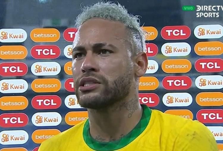 Neymar y un fuerte mensaje contra los brasileños que hinchan por Argentina en la final