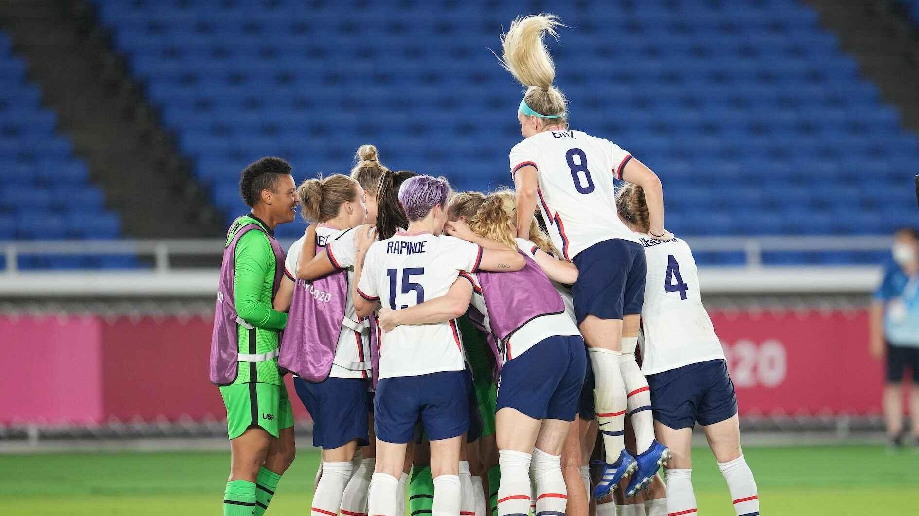 ¿Cómo se jugarán las semifinales del fútbol femenino?