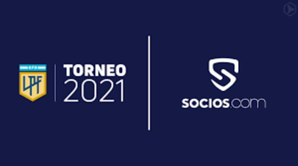 Socios.com, así se llamará el campeonato argentino