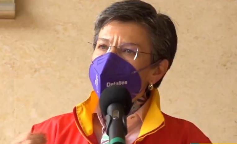 """Claudia López: """"Los hinchas de Nacional cometieron un delito. Bogotá se respeta"""""""