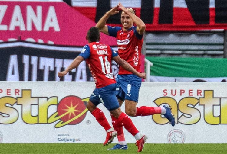 Agustín Vuletich, Deportivo Independiente Medellín, DIM, DaleRojo, Copa Colombia 2021, Once Caldas
