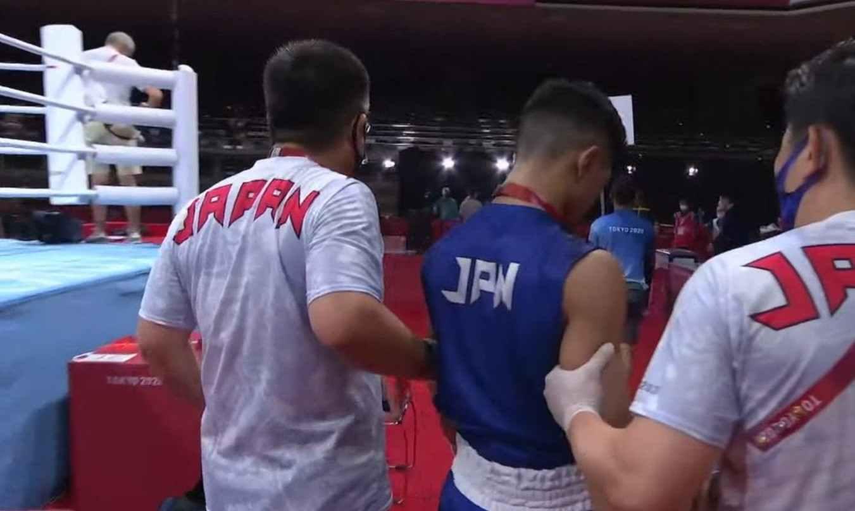 """Al japonés que le ganó a Yuberjen le dio """"la pálida"""" al final de la pelea"""