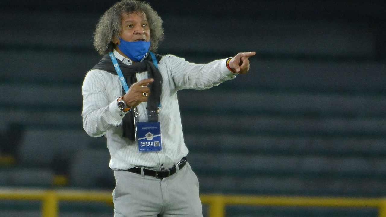 Alberto Gamero La hinchada queda contenta porque ganamos contra un gran equipo