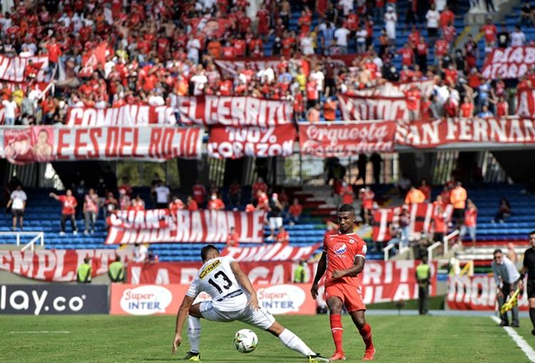 América de Cali, Deportivo Independiente Medellín, DIM, Liga BetPlay 2021-II, Deportes Quindío, suspensión, estadio Pascual Guerrero