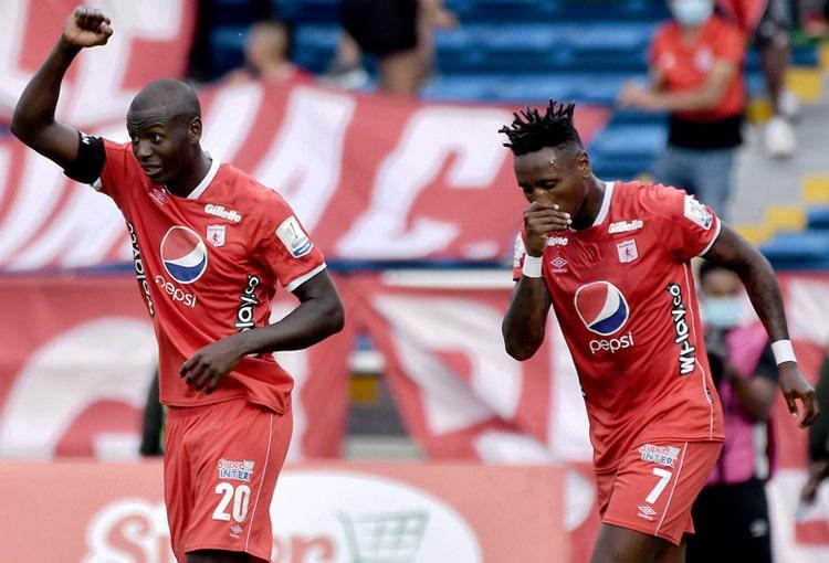 América de Cali, Independiente Santa Fe, Liga BetPlay 2021-II, convocados