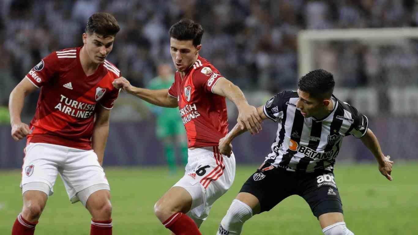 Atlético Mineiro goleó a River y se metió a semifinales de la Copa Libertadores