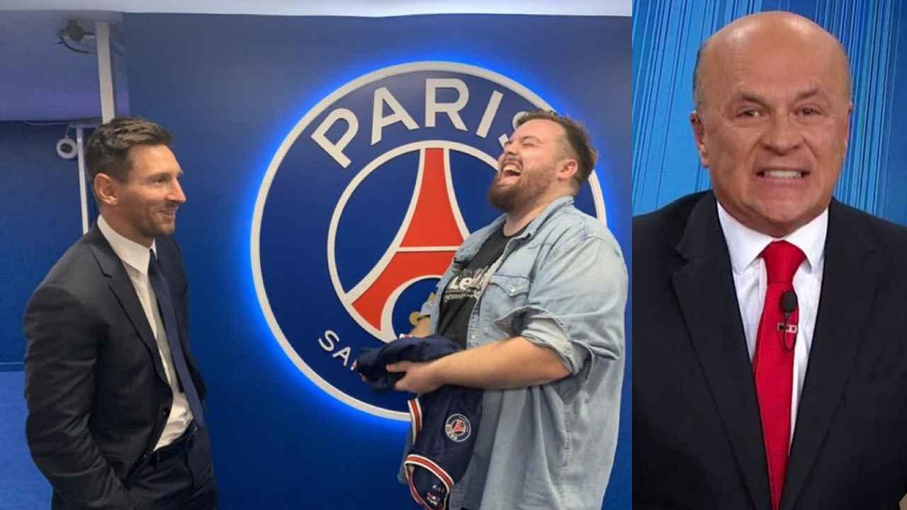 Carlos Antonio Vélez no se quedó atrás y también criticó a Ibai tras su charla con Messi