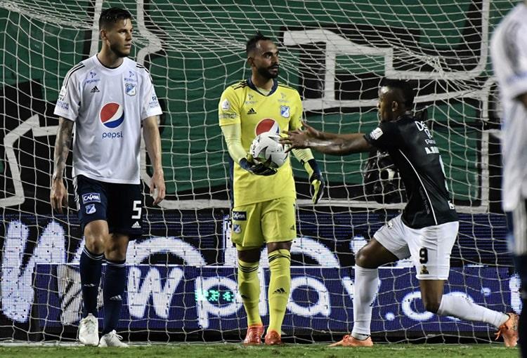 Deportivo Cali, Millonarios FC, América de Cali, Deportivo Independiente Medellín, DIM, Liga BetPlay 2021-II, tabla de posiciones, fecha 5