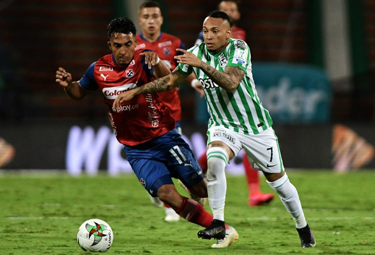 Deportivo Independiente Medellín, DIM, América de Cali, Atlético Nacional, Millonarios FC, Copa Colombia 2021, Copa BetPlay 2021, sorteo