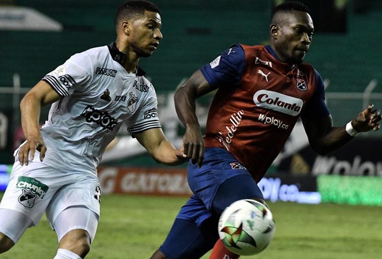 Deportivo Independiente Medellín, DIM, DaleRojo, Copa Colombia 2021, Deportivo Cali, ficha técnica
